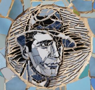 Gardel mosaico Regina Satz