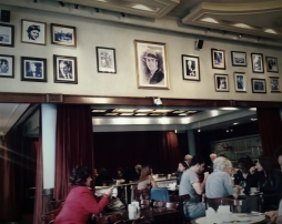 Cafe de los Angelitos interior