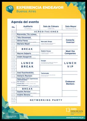 Endeavor 2017 Programa