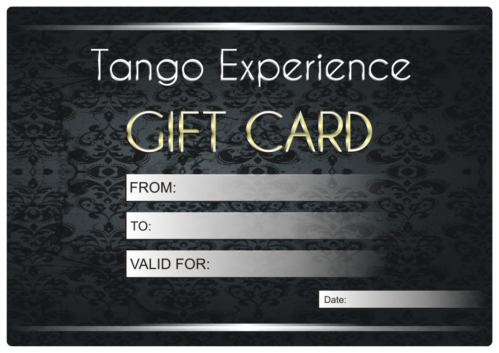 Gift Card - Tango Argentino