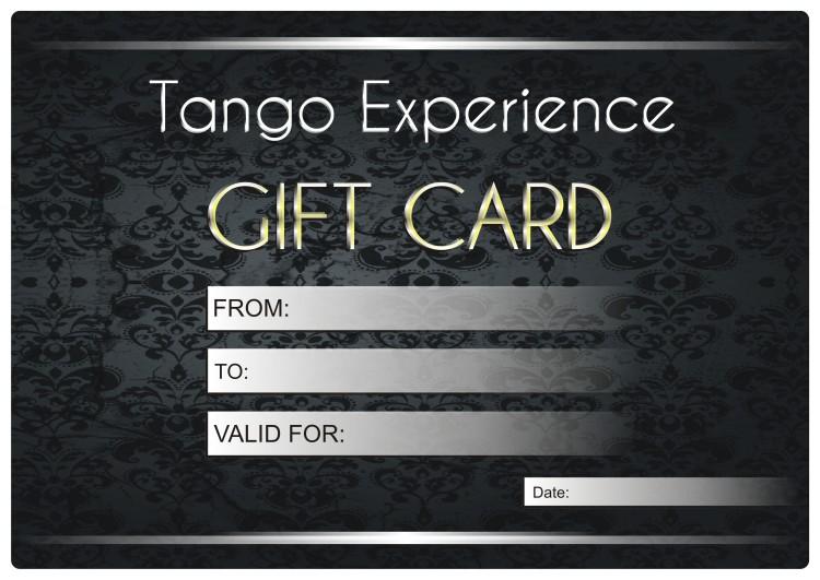 Gift Card - Tango Argentino