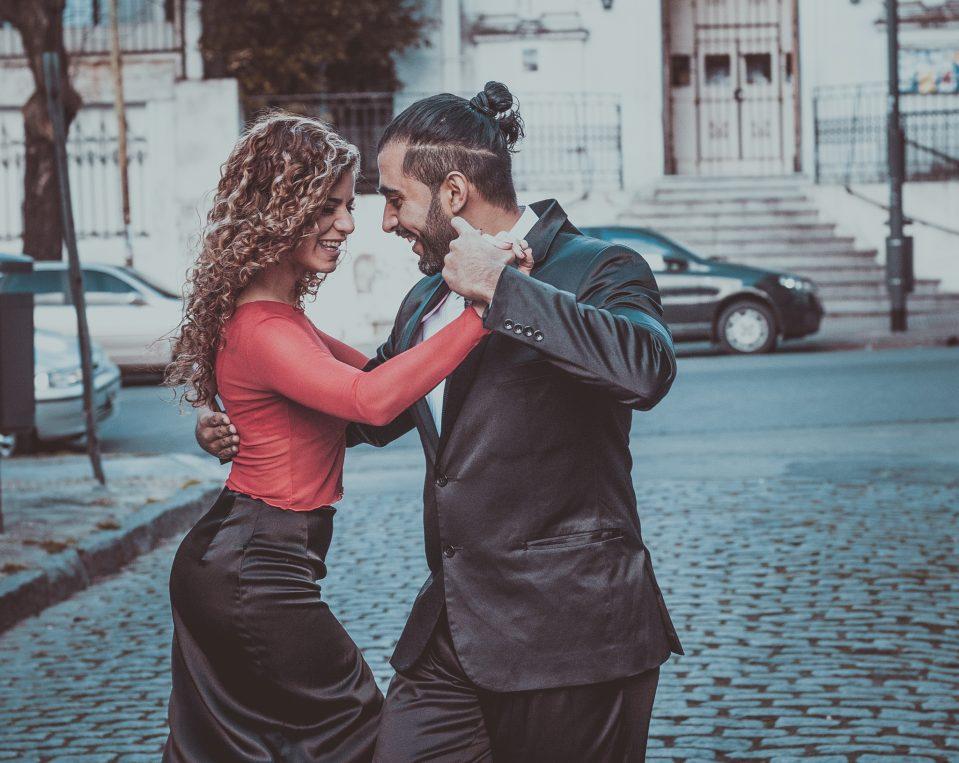 Tango teacher - Adrian Luna